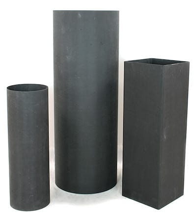 Collection of large carbon fiber tubes
