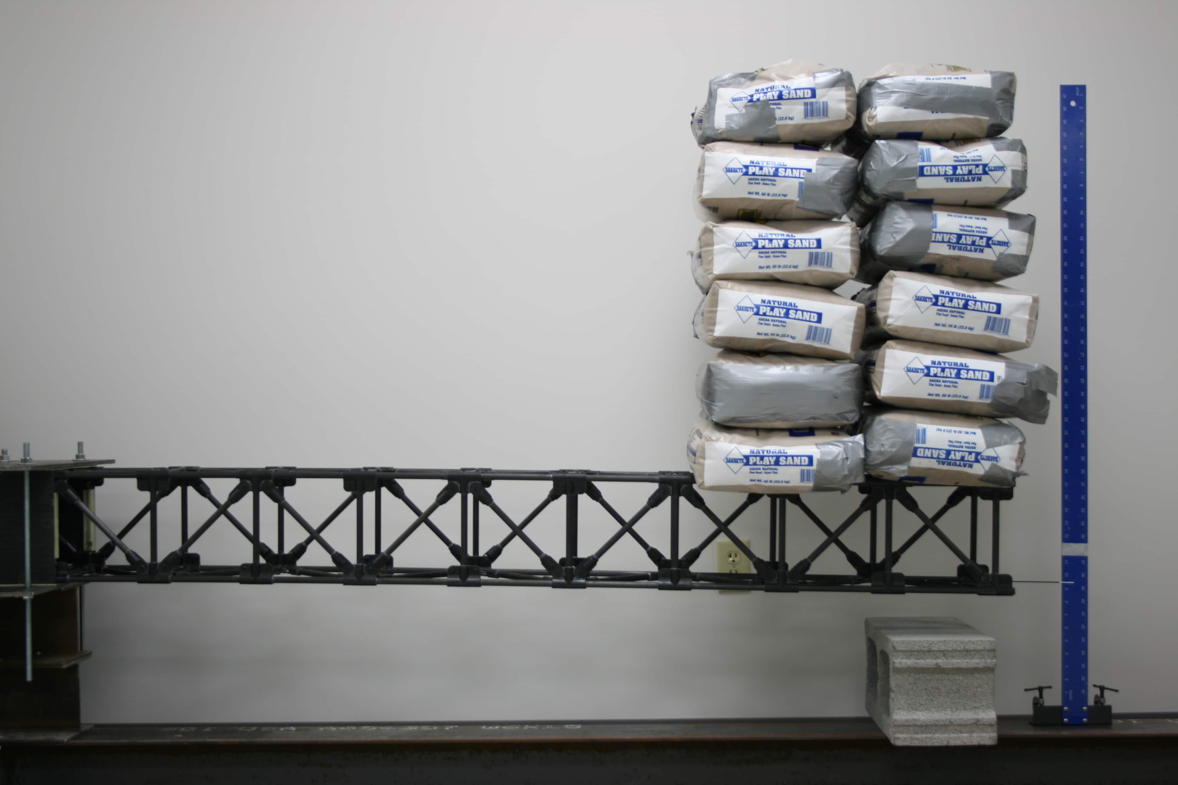 carbon fiber truss 800lb beam load
