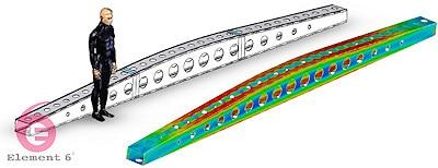 carbon fiber beam design