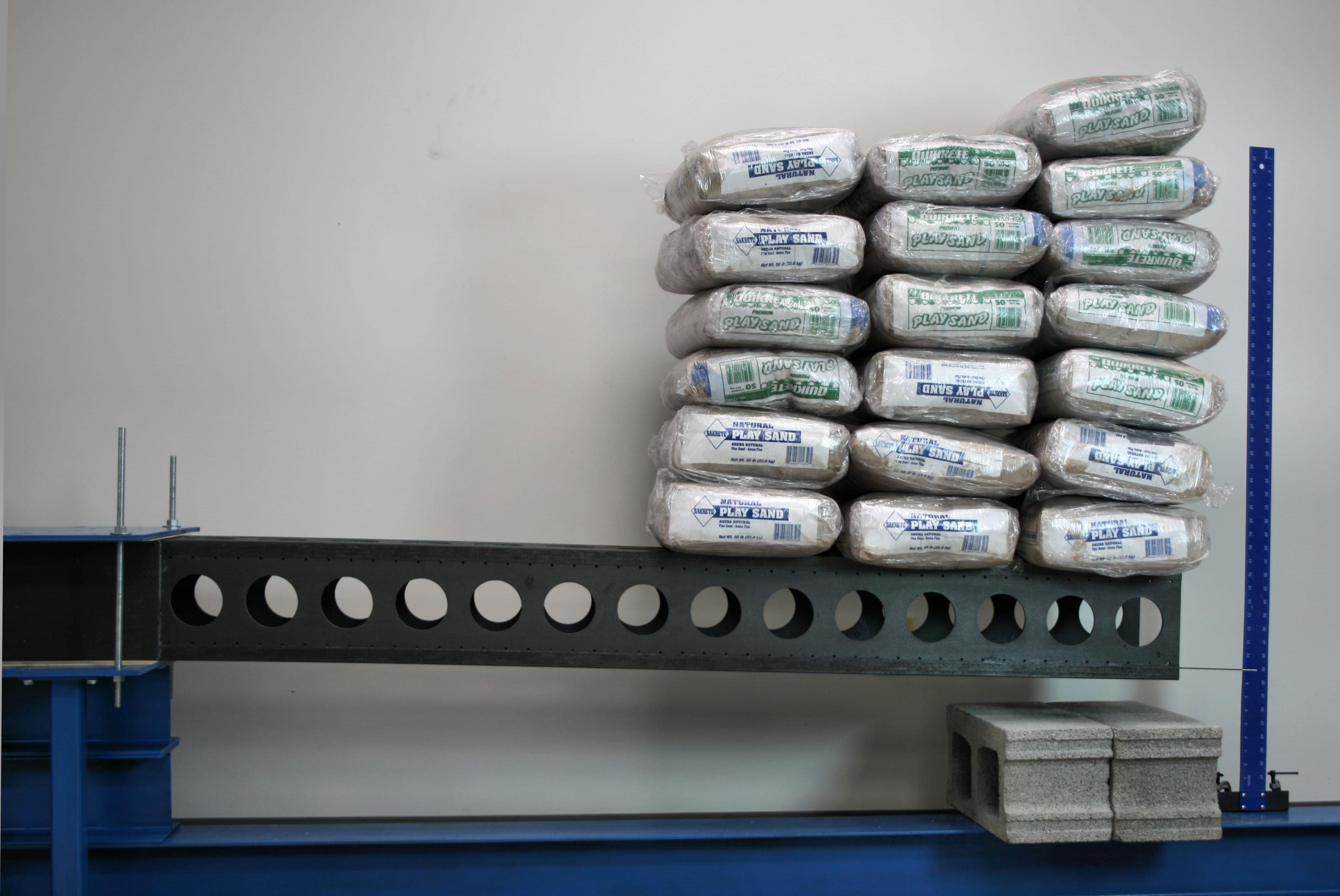 carbon fiber truss 800lb load