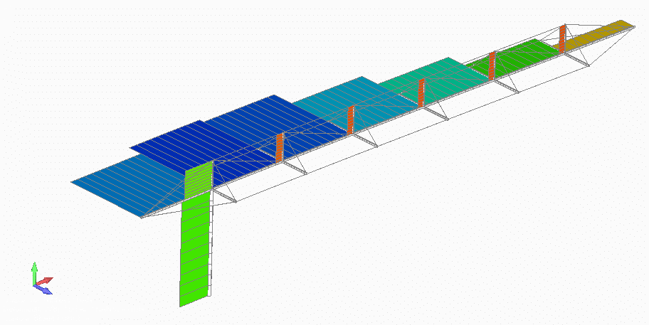 UAV carbon fiber truss