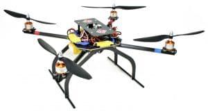 carbon fiber drone design